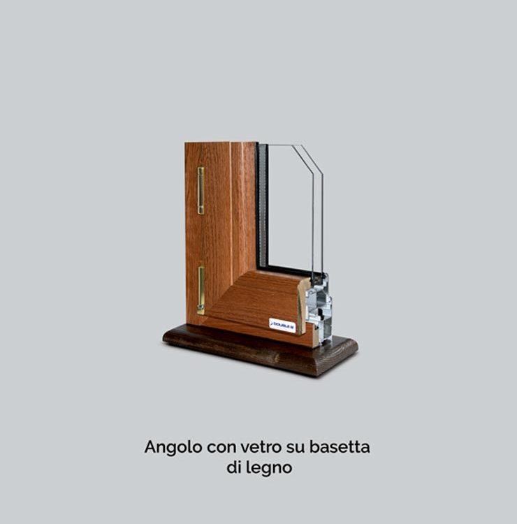 angolo con vetro double b infissi in alluminio legno e pvc