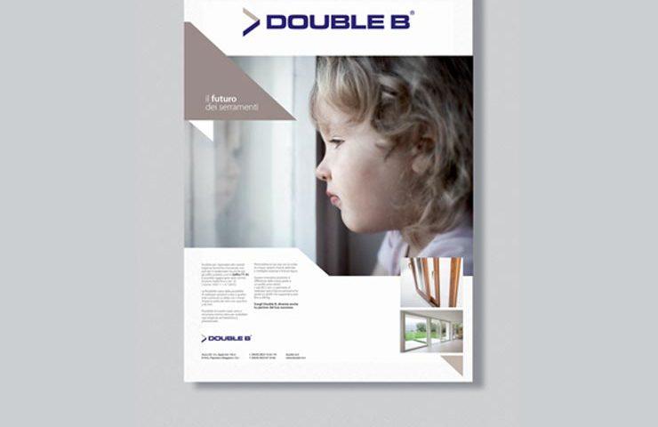gigantografia double b infissi in alluminio legno e pvc