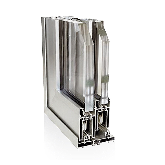 Infissi in alluminio Gemma AS 155 Alzante scorrevole alluminio
