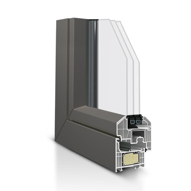 Infissi in PVC - Zen 3.3 76C Con anta complanare