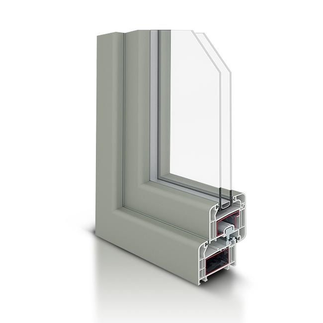 Infissi in PVC - Zen 70 Modern