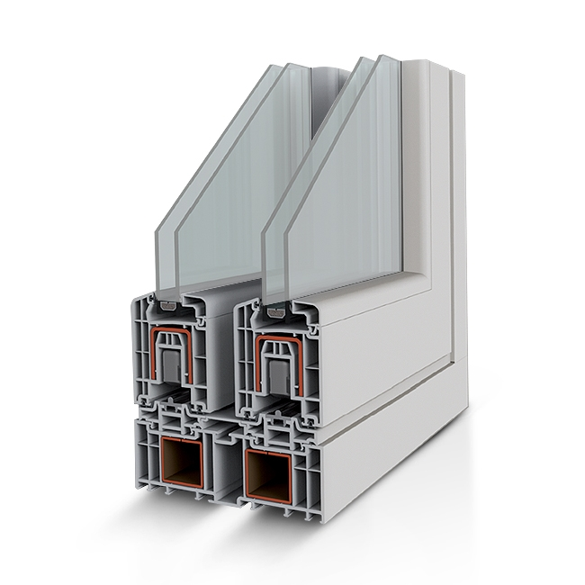 Infissi in PVC - Zen 76 Hs