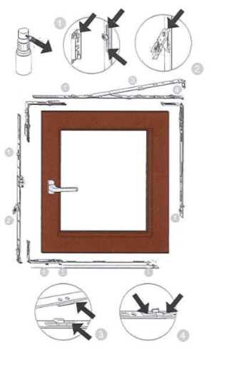 Pulizia e manutenzione delle finestre