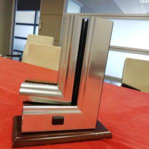 merchandising promo double b infissi in alluminio legno e pvc
