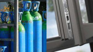 Come riconoscere vetri con gas argon