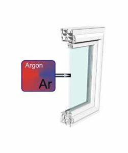 Sigla AR GAS argon